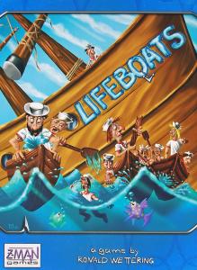 Lifeboats - кутия на настолна игра