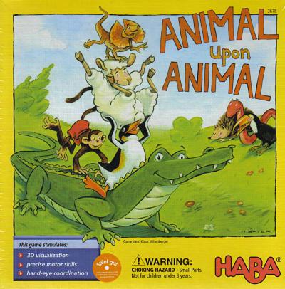 Animal upon Animal – Кула от животни – HABA