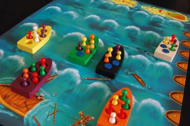 Lifeboats - лодки на настолна игра